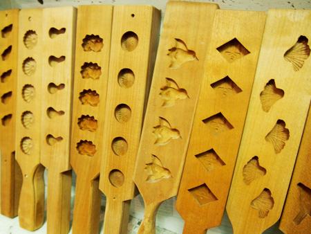 教室で使う木型は約120種