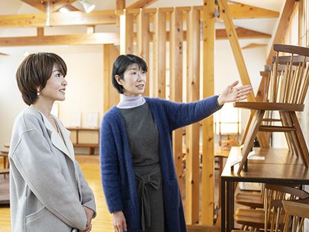 ナカシマの生い立ちや桜製作所との深い関わりなど、詳しく解説してもらえます。