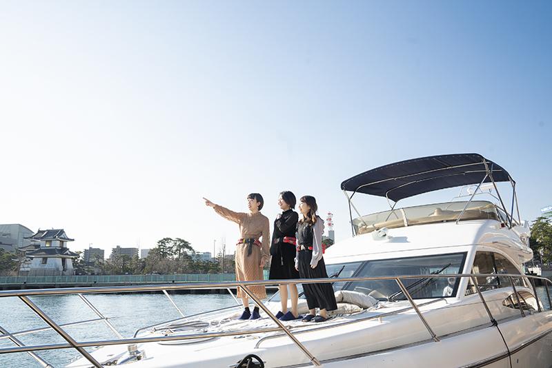 瀬戸内の島々をクルーザーで巡るラグジュアリーな旅